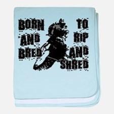 Born And Bred baby blanket