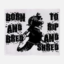 Born And Bred Throw Blanket