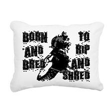 Born And Bred Rectangular Canvas Pillow