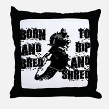 Born And Bred Throw Pillow