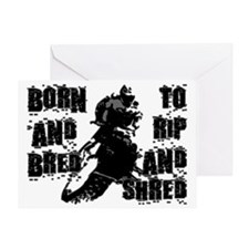 Born And Bred Greeting Card