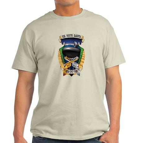 USS North Dakota SSN 784 Light T-Shirt