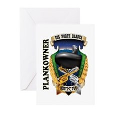PLANKOWNER SSN 784 Greeting Cards (Pk of 10)
