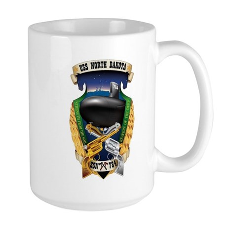 USS North Dakota SSN 784 Large Mug