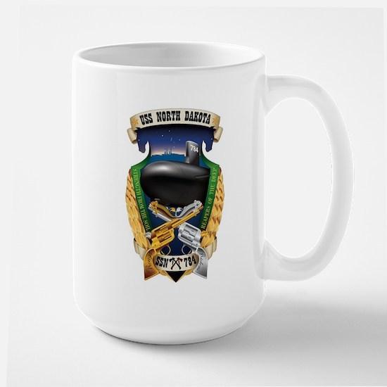 USS North Dakota SSN 784 Large Mug