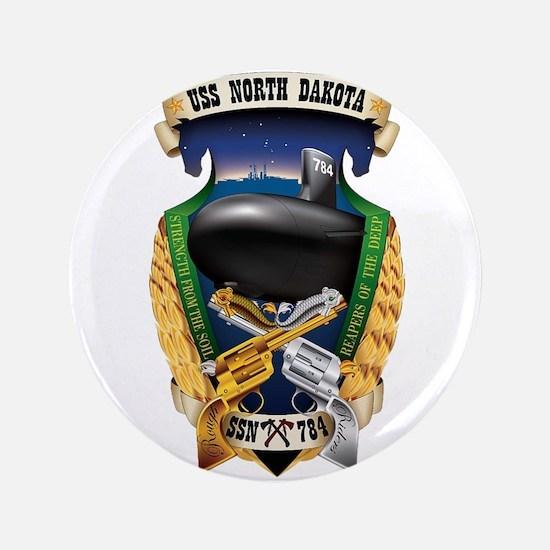 "USS North Dakota SSN 784 3.5"" Button"