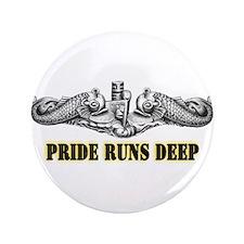 "USS North Dakota Pride! 3.5"" Button"