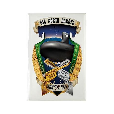 USS North Dakota SSN 784 Rectangle Magnet