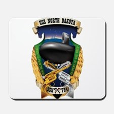 USS North Dakota SSN 784 Mousepad