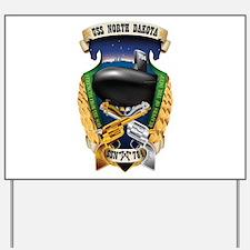 USS North Dakota SSN 784 Yard Sign