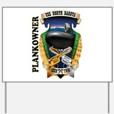 PLANKOWNER SSN 784 Yard Sign