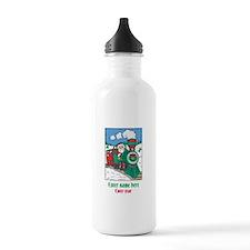 Personalized Santa Train Water Bottle