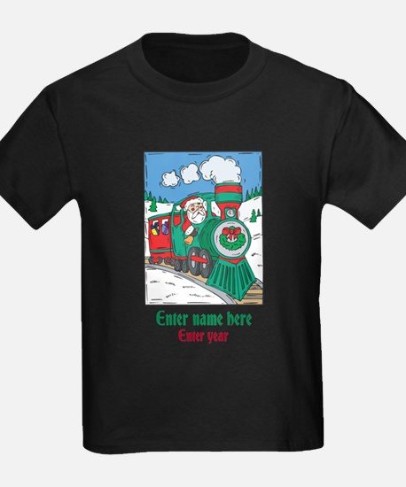 Personalized Santa Train T