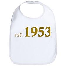 Est 1953 (Born in 1953) Bib