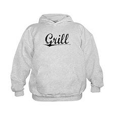 Grill, Vintage Hoodie