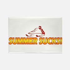 Summer Sucks Rectangle Magnet