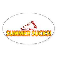 Summer Sucks Decal