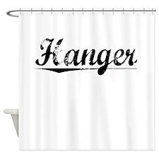Hanger, Vintage Shower Curtain