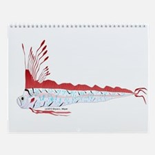 Deep Sea Fishes and Creatures Calender