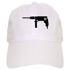 Power drill machine Baseball Cap