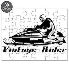 Vintage Rider Puzzle