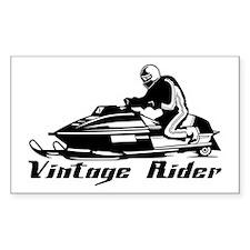 Vintage Rider Decal