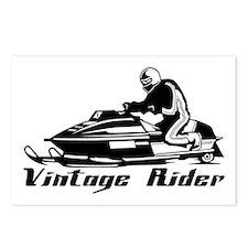 Vintage Rider Postcards (Package of 8)