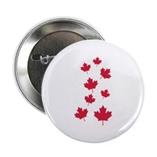 "Canada maple leafs 2.25"" Button"