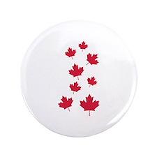 """Canada maple leafs 3.5"""" Button"""
