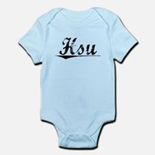 Hsu, Vintage Infant Bodysuit