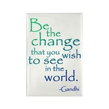 Gandhi Rectangle Magnet (10 pack)