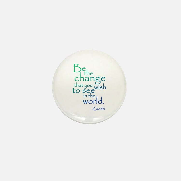 Gandhi Mini Button (10 pack)