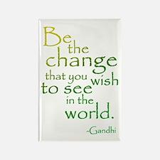 Gandhi Rectangle Magnet