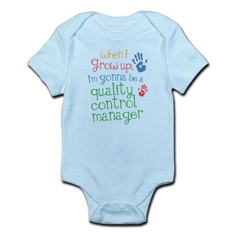 Future Quality Control Manager Infant Bodysuit