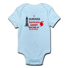I SURVIVED Hurricane Sandy Infant Bodysuit