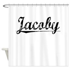 Jacoby, Vintage Shower Curtain