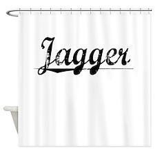 Jagger, Vintage Shower Curtain