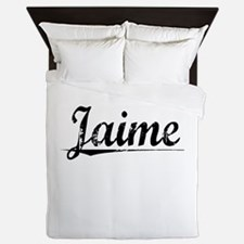 Jaime, Vintage Queen Duvet