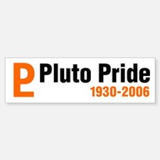 Pluto tshirts and gifts Bumper Bumper Bumper Sticker
