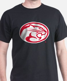Houston Cougar Mascot Logo T-Shirt