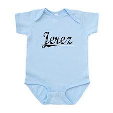 Jerez, Vintage Infant Bodysuit