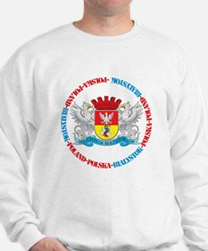 Polish Crest of Bialystok Sweatshirt
