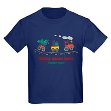 Personalized Christmas Train T