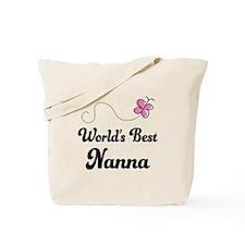 World's Best Nanna Tote Bag