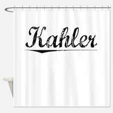 Kahler, Vintage Shower Curtain