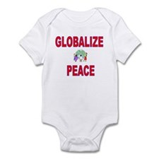 """Globalize Peace"" Infant Creeper"