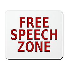 """Free Speech"" Mousepad"