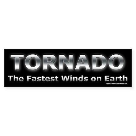 Tornado Bumper Bumper Sticker