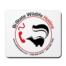 Bi-State Wildlife Hotline Staff T-Shirt Mousepad