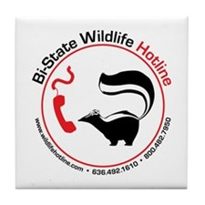Bi-State Wildlife Hotline Staff T-Shirt Tile Coast